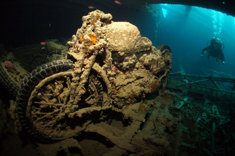 SS Thistlegorm, Mar Rojo